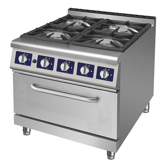 Cocina a gas 4 fuegos con horno a gas nueva mayorista for Cocinas a gas nuevas