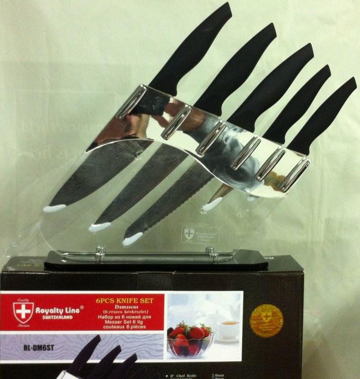 Set de cuchillo de cer mica royaltyline rl dm6st mayorista - Set de cuchillos royalty line ...