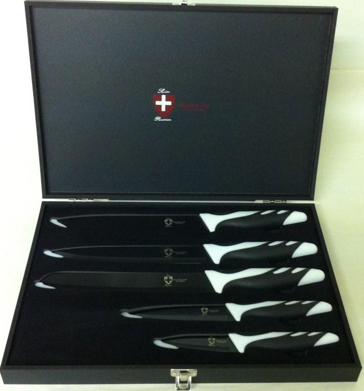 Cuchillo set 5 piezas royaltyline rl 5b mayorista - Set de cuchillos royalty line ...
