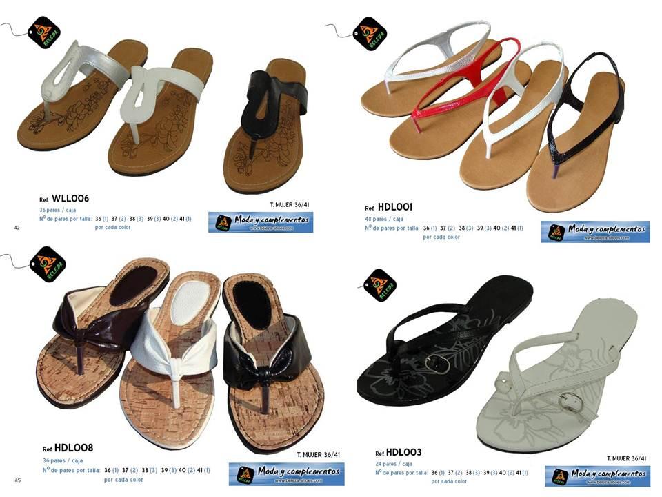 Restos de stock de sandalias minimo 180 pares mayorista - Restos de zapatos ...