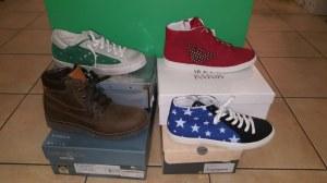 Lote calzado de marcas infantil