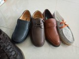 Stock man's leather shoes and casual shoes lot
