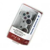 PS3 controlador DUALSHOCK Plateado