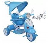 Scooter Cochecito triciclo Vespa con pedales