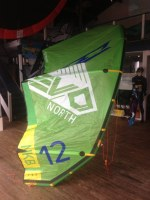 2014 North Evo Kite Complete w/Bar & Lines