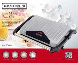 Royalty Line PM-750.1; Panini Grill 750W Plata