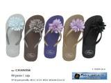 CHANCLAS FLOR TELA 2.15€ PAR