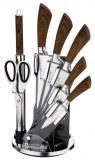 Imperial Collection IM-KST18; Cuchillo de recubrimiento antiadherente Set 6pcs Marrón