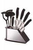 Peterhof PH-22382;9 piezas Juego de cuchillos con accesorios de cocina, con soporte