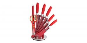 Royalty-Line RL-RED8-W, Cuchillo set 8 piezas con el torneado de soporte