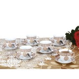 Zillinger ZL 741; Servicio de té para 6 personas Dorado