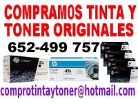 Compramos cartuchos de tinta y toner originales nuevos EN TODA ESPAÑA HP, CANON, OKI, RICOH, ETC