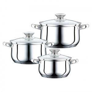 Peterhof PH-15823; Set de utensilios de cocina de acero inoxidable 6 piezas