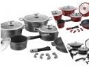 Royalty Line RL-ES1014M; Batterie de cuisine en revêtement de marbre 14 piezas