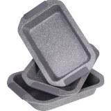 Royalty Line RL- RP3G; Granit Roasting Pan 3 piezas Gris
