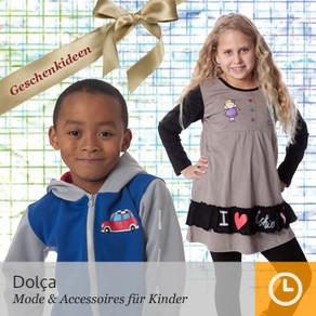 Stock de 3300 piezas de ropa infantil de otoño-invierno marca Dolça