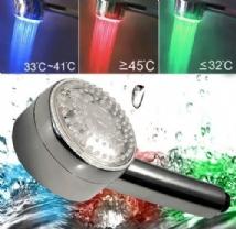 Ducha que Cambia de Color con la Temperatura del Agua - PR002028