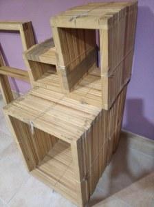 Liquidacion lote bastidores madera para lienzos