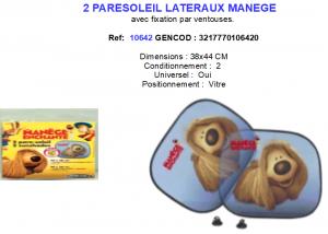 VISERA PARE SOLEIL LATERAUX MANEGE ref: 10642
