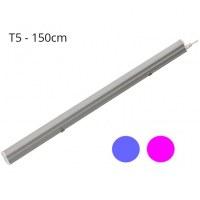LOTE Regleta LED LUZ ROSA T5 23W 120º (1500mm)