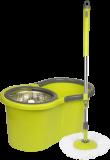 Cenocco CC-9057; Escobilla giratoria de escoba Rotación giratoria 360 ° Verde