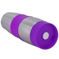 Cenocco CC-6000: Taza de viaje de vacío de acero inoxidable Púrpura