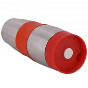 Cenocco CC-6000: Taza de viaje de vacío de acero inoxidable Rojo