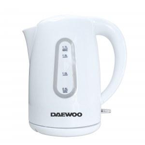 Daewoo SYM-1342: Hervidor Eléctrico Inalámbrico de Plástico sin BPA