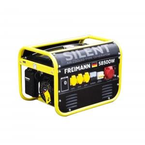 Freimann FM-S8500W: Generador de Gasolina Profesional Refrigerado por Aire