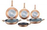 Herzberg HG-6010; Juego de utensilios de cocina en mármol 8 piezas