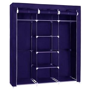 Herzberg HG-8011: Armario de almacenamiento - Medio Azul