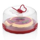 Herzberg HG-L501 Cúpula de pastel de caramelo Rojo