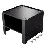 Herzberg HG-WP2: Pedestal universal para lavadora con compartimento de almacenamiento...