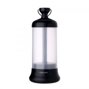 Herzberg HG-5049; Linterna LED de viaje portátil Negro