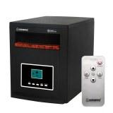 Herzberg HG-8073: Calentador infrarrojo Quarts de gabinete