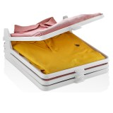 Herzberg HG-L659: Organizador de armario y carpeta de camisas