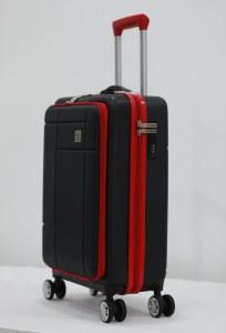 Herzberg Travel HG-8063BLK: Bolsa de Cabina - Negro