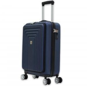 Herzberg Travel HG-8065BLU: Bolsa de Cabina - Azul