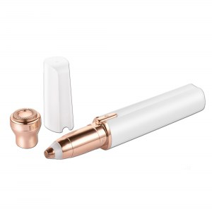 Cenocco Beauty CC-9095: Recortador de Cejas y Afeitadora Facial 2 en 1 Blanco