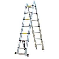 Herzberg HG-5440: Escalera Telescópica de Aluminio Retráctil - 4.40M