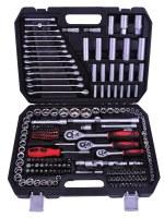 Kraftmax Professional Tool KF-216; Juego de zócalos de 216 PCS (1/4 'y 3/8' y 1/2 ')