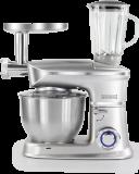 Royalty Líne PKM-1900.7BG; Robot de cocina 3 en 1 con 1900 vatios max Plata