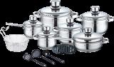 Royalty Line RL-1802; Utensilios de cocina y diversos utensilios de acero inoxidable