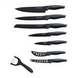 Royalty Line RL-CB7; Juego de cuchillos con recubrimiento no steack 7pcs