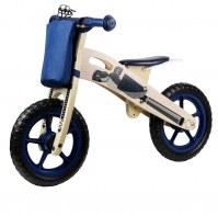Kinderline WBC726.1: Bicicleta de equilibrio de madera Azul