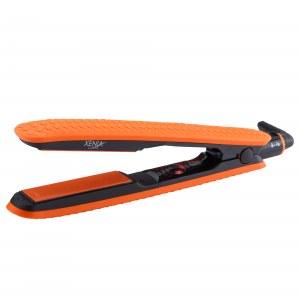 Xenia Paris JS-140209: Plancha de pelo de silicona naranja