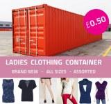 Offre de conteneur de vêtements pour femmes 0.50p