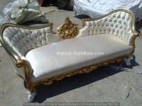 Sofá de boda barroco - reproducción de muebles antiguos