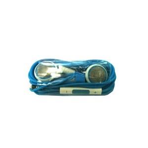 Auriculares + mando Azul