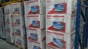 LOTE Teles AEG 22-26 LED DVD TV FULL HD DVB